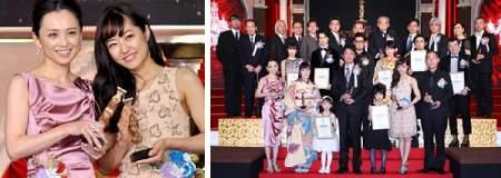 第35回日本アカデミー賞「八日目の蝉」最優秀賞を受賞