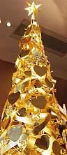 純金のクリスマスツリー